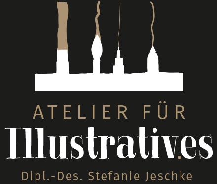 Begruessungsbild Homepage von Stefanie Jeschke - Ihrem Atelier fuer Illustratives